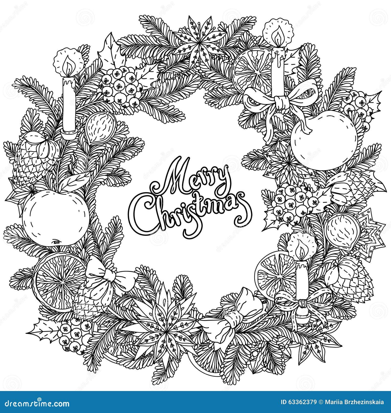 circle christmas balls ornament stock vector  image 63362379