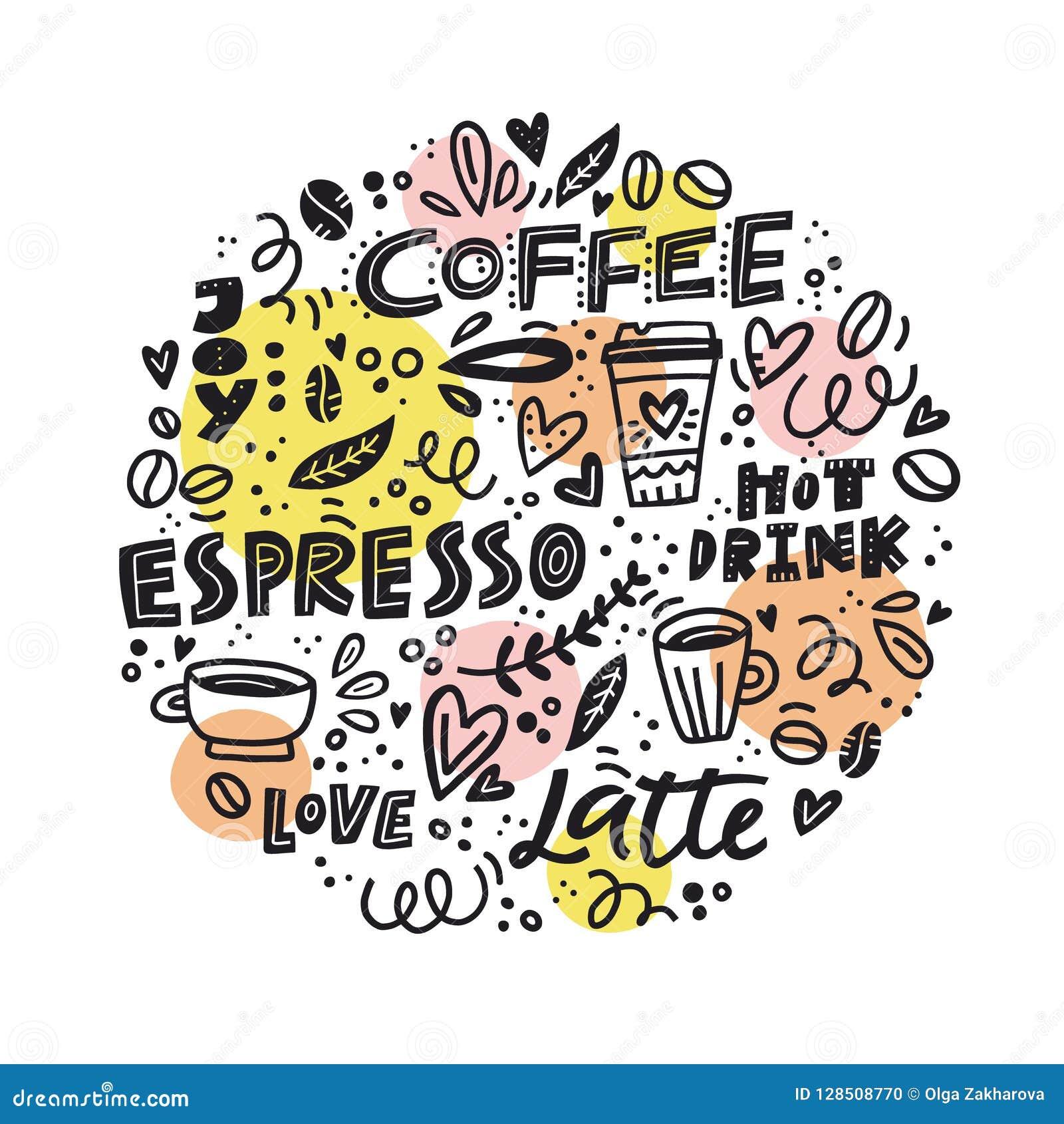 Circle coffee concept