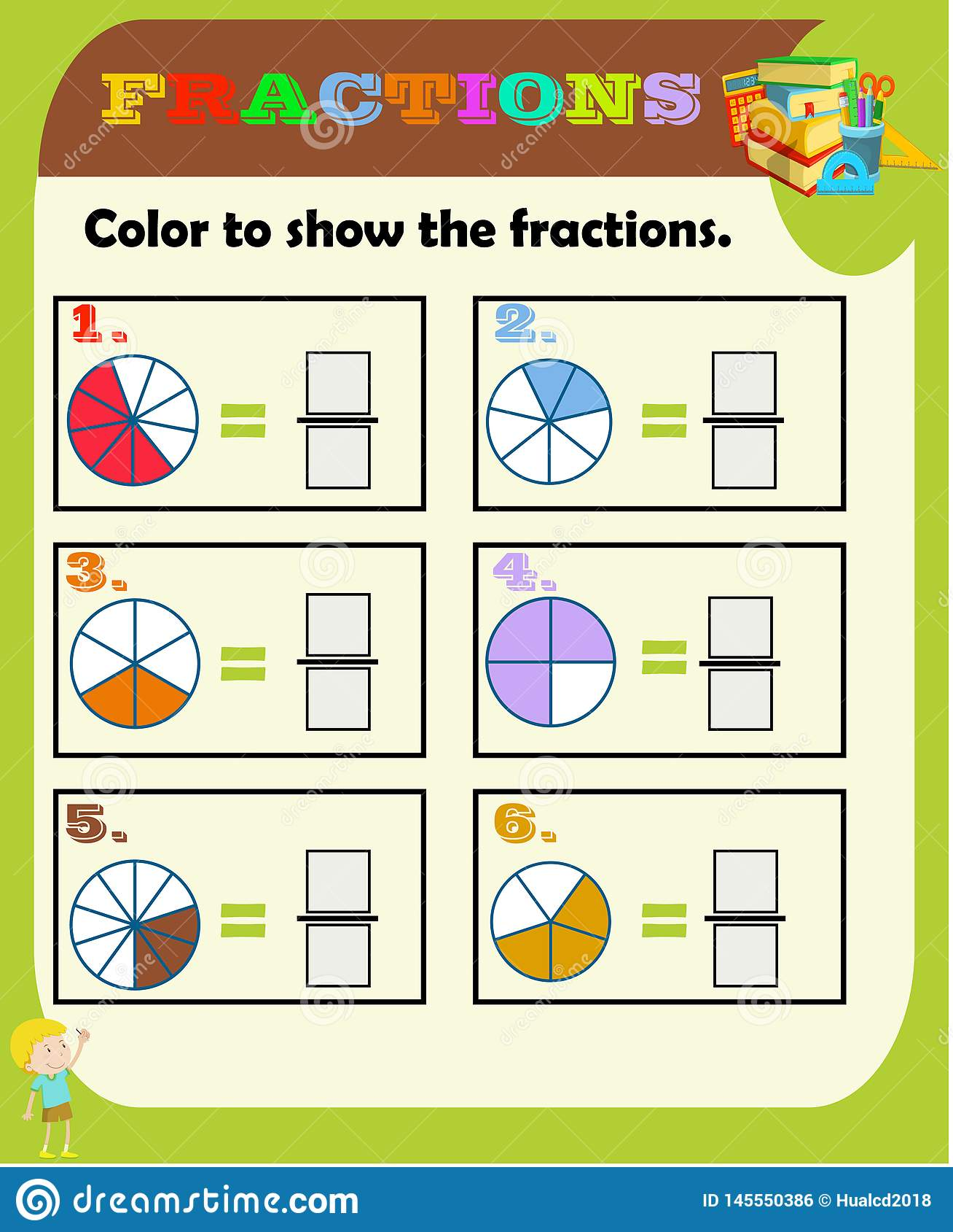 circle the correct fraction mathematics math worksheet. Black Bedroom Furniture Sets. Home Design Ideas