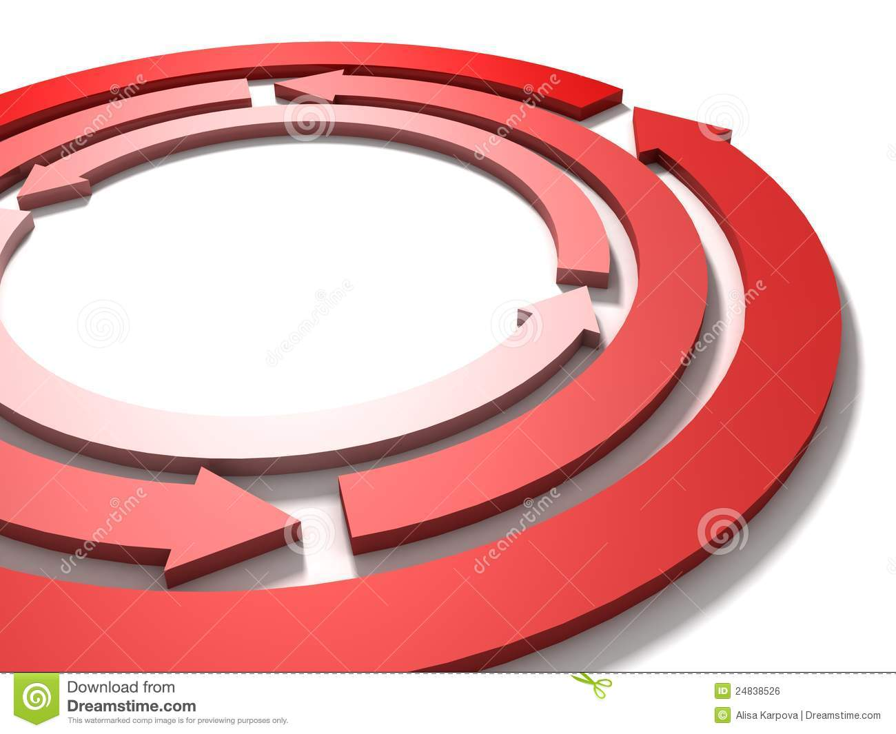Process cycling arrow by arrow royalty free stock images image - Circle Cycle Red Arrows Team Work Concept On White Royalty Free Stock Image