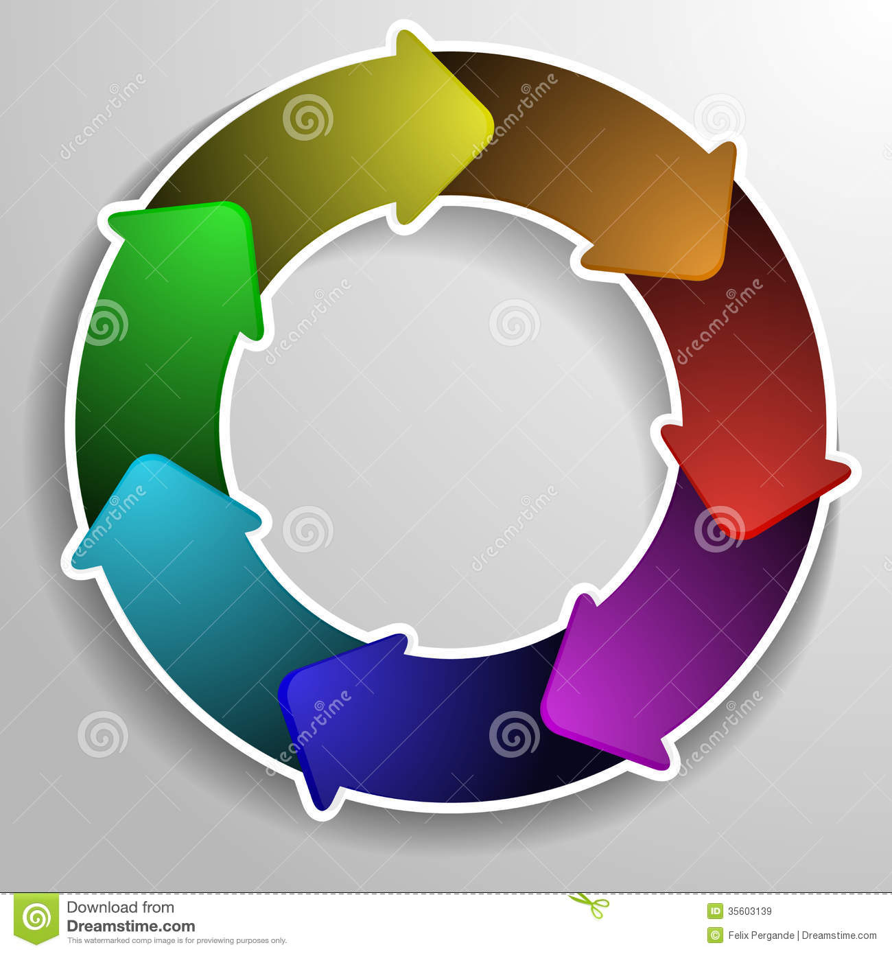 Circle diagram stock vector illustration of evaluate 35603139 circle diagram ccuart Images