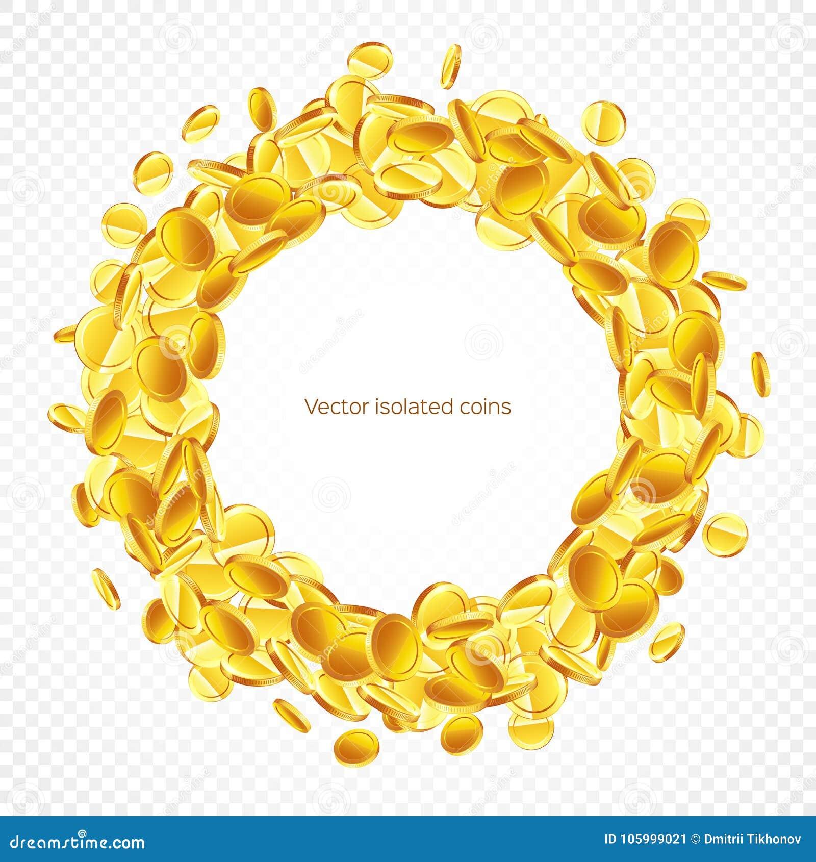 0099a462591c Circle Frame Gold Coins