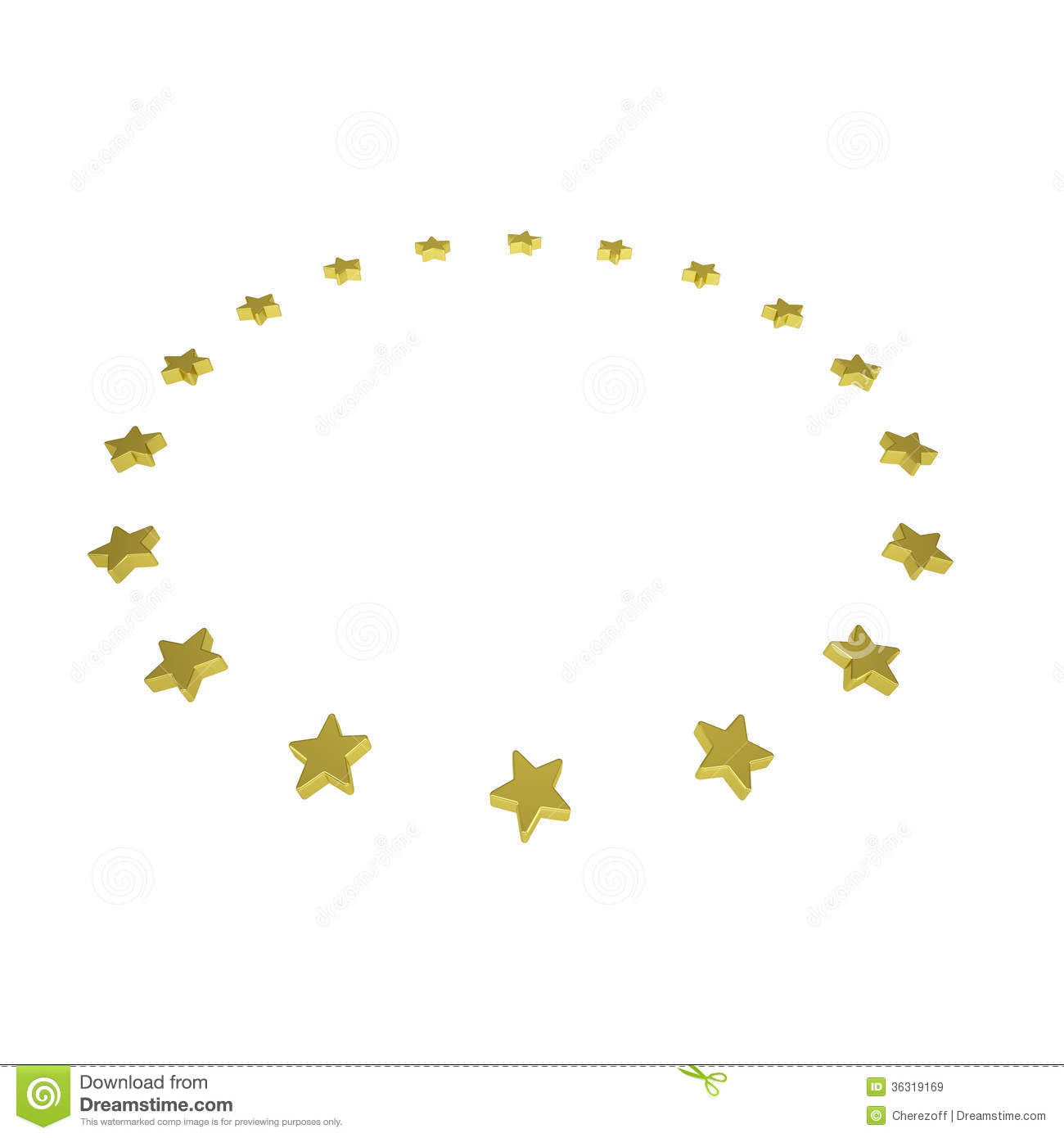 Royalty Free Stock Images Circle Gold Stars Isolated Render White Background Image36319169 on Gold Circle Frame