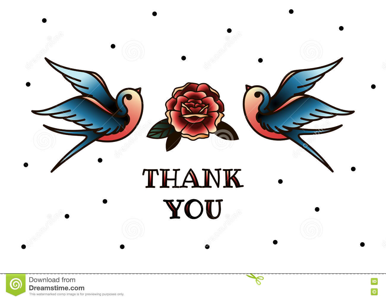 Line Art Thank You : Thank you card hand drawn lettering design greeting
