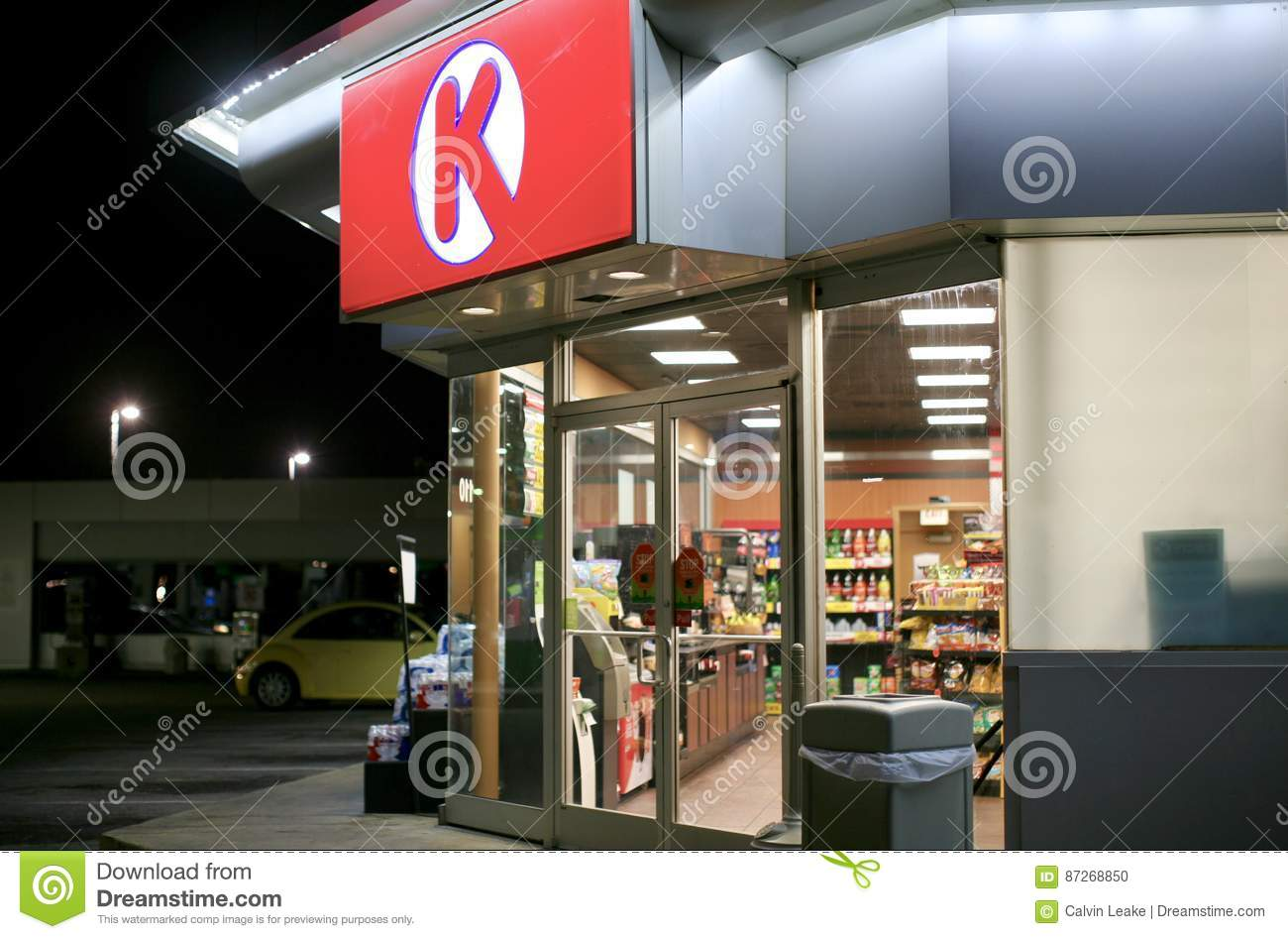 Circle K Convenience Store editorial image  Image of diesel
