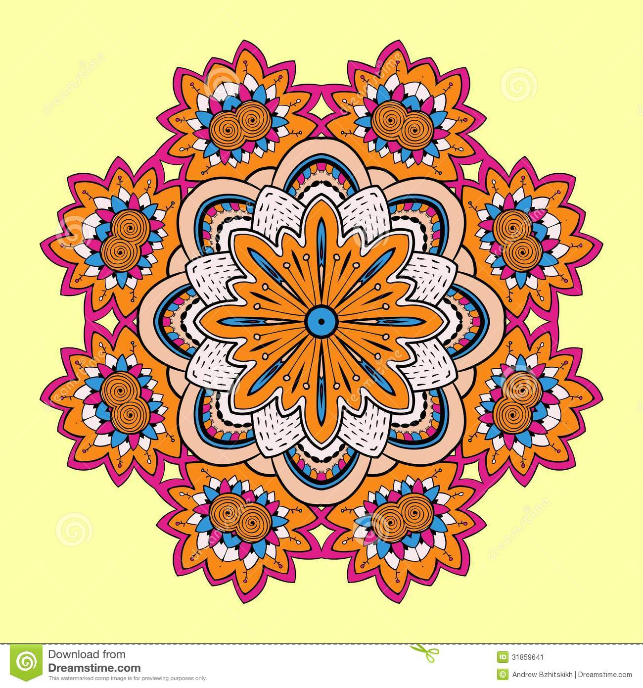 coloring pages designs geometric images