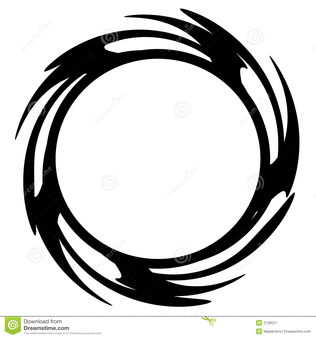 circle ring or hoop web logo stock illustration illustration of illustrations coils 2728521 dreamstime com