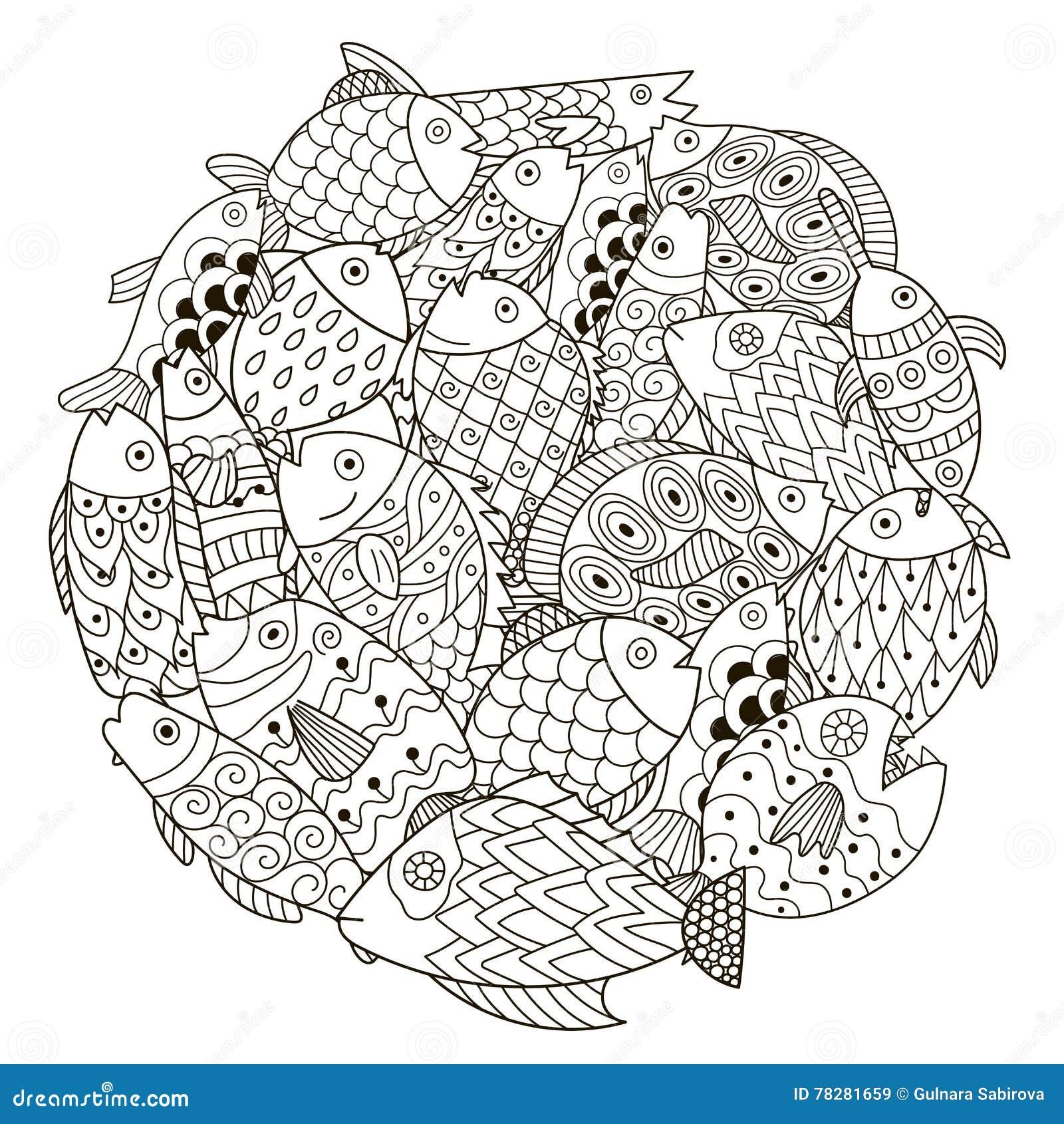 Circle Shape Pattern With Ornamental