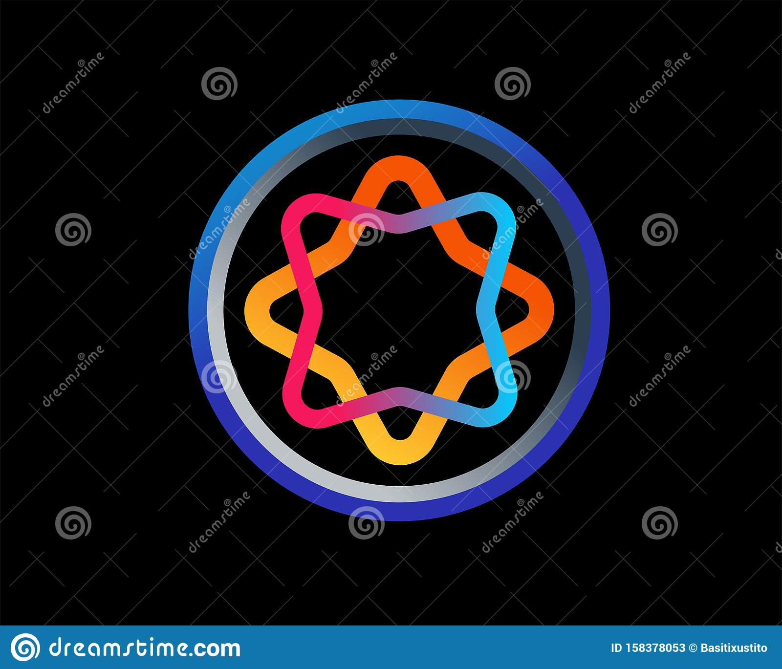 Circle Is A Symbol Of Unity Togetherness And Integrity Stock Image Image Of Neon Shape 158378053