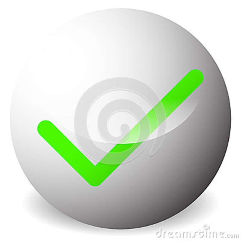 Circle With Tick Check Mark Symbol Approve Correct Accept R