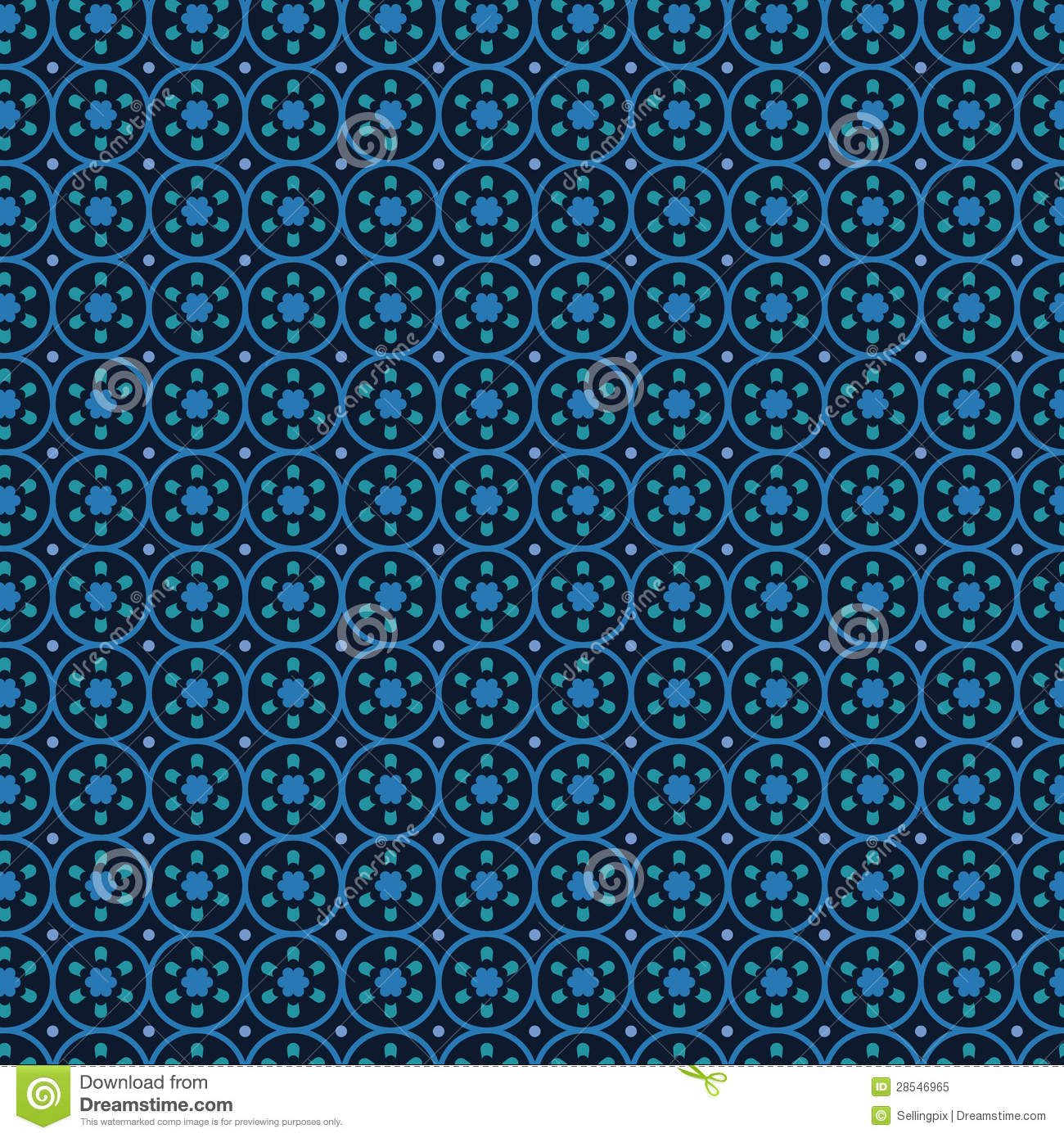 Circles background abstract vector.