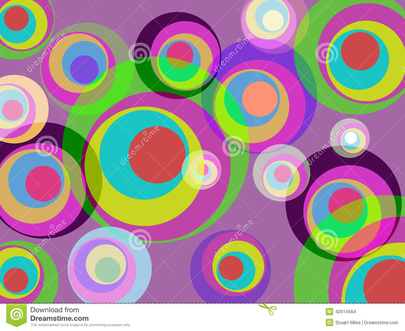 Circles Color Represents Round Abstract And Multicoloured ...
