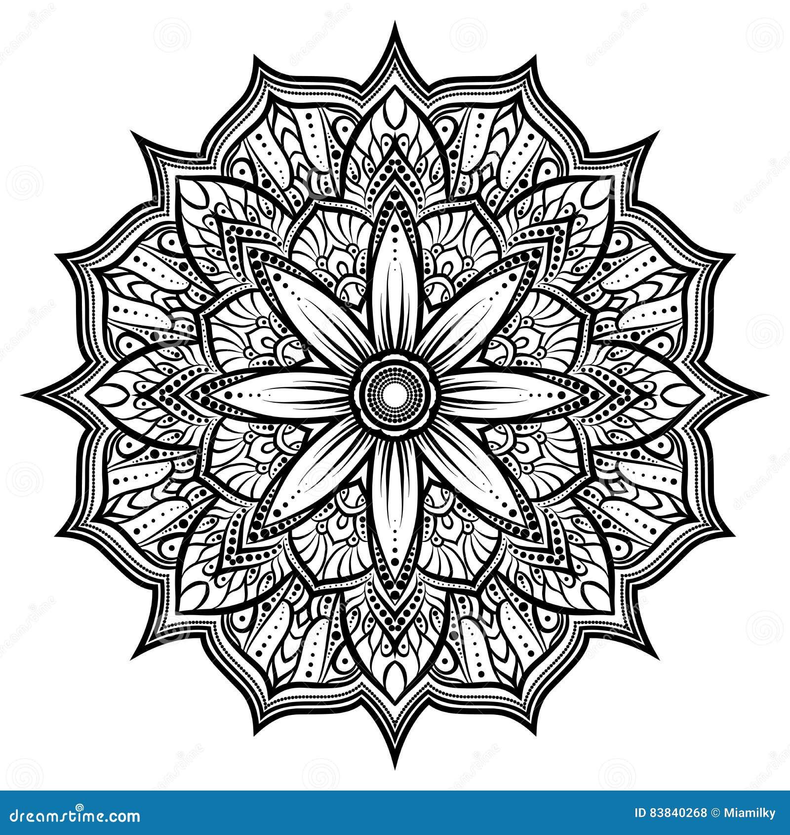 Circondi L'ornamento Del Pizzo, Il Modello Geometrico ...