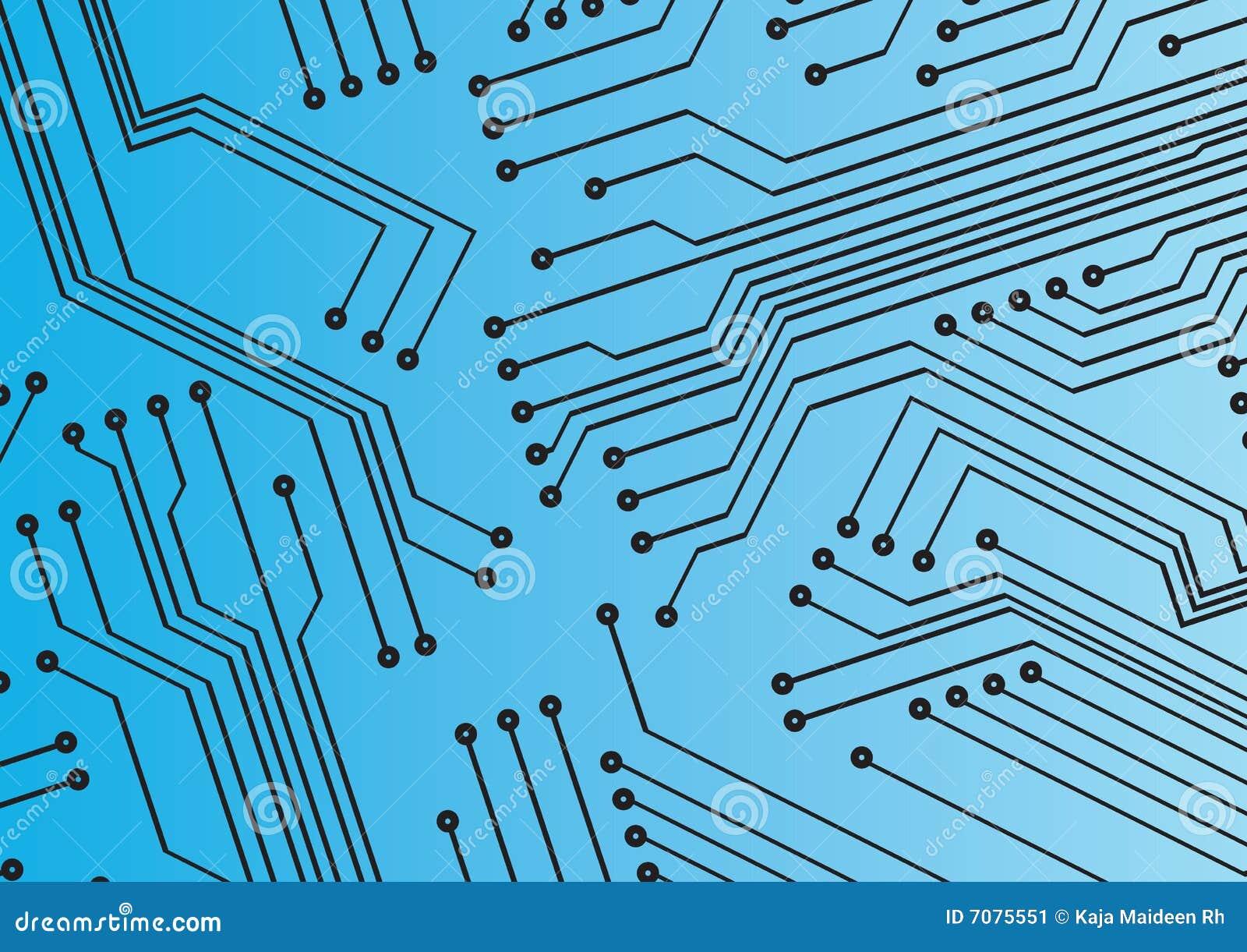 Circuit background stock illustration. Illustration of lines - 7075551
