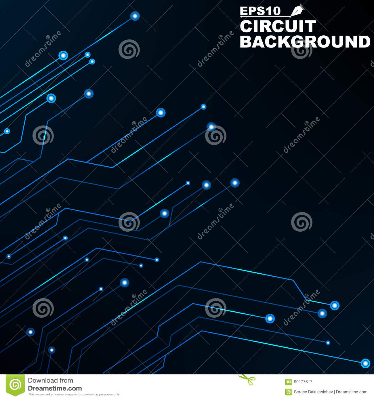 circuit  black abstract background of digital technology  new technologies in design  computer