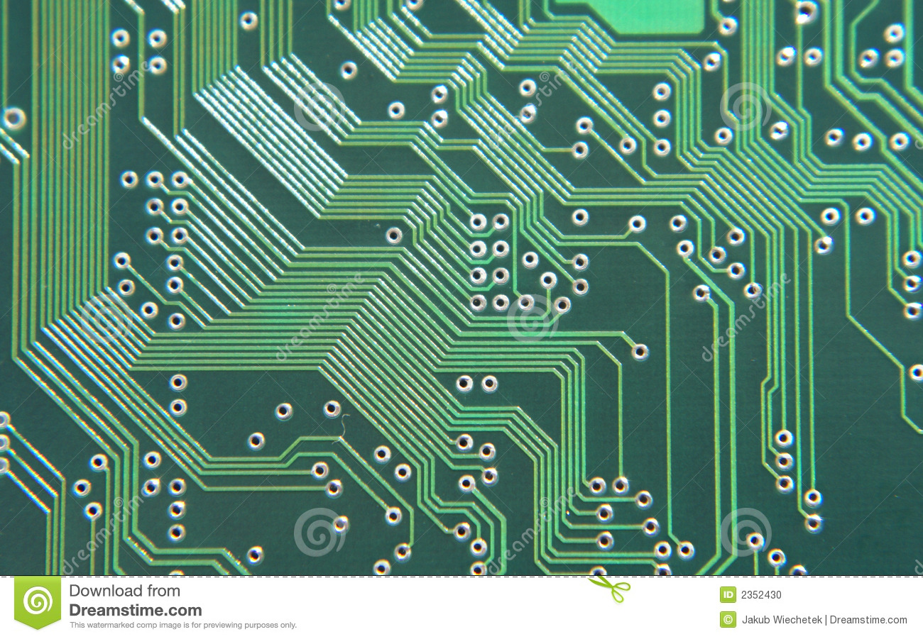 Circuit Board Stock Photo Image Of Precision Wire Science 2352430 A Cell Phone Royalty Free