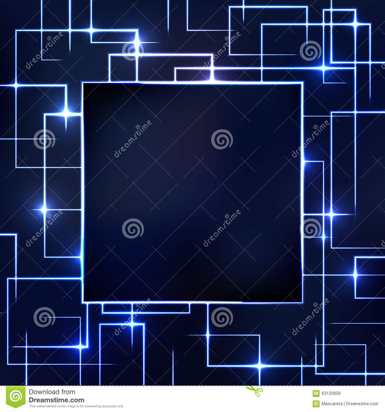 Vector Illustration Of A Glowing Circuitry Board Design Circuit Graphic By Setsiri Silapasuwanchai Abstract Background Stock