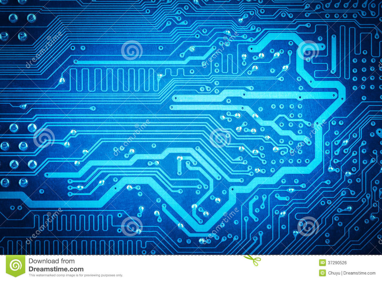 Electric Circuit Board Royalty Free Stock Photos Image 7853238