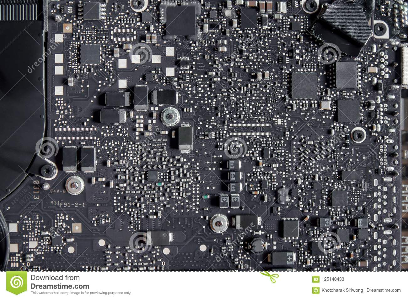 Circuit Board And Electronic Computer Hardware, Repair Of