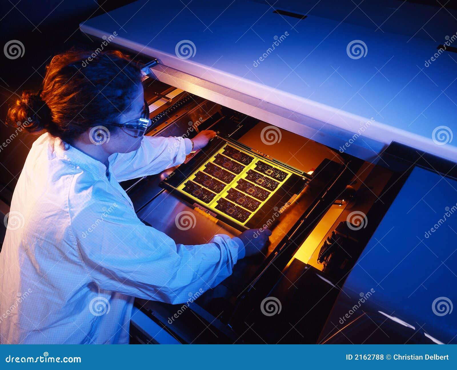 Circuit board technician