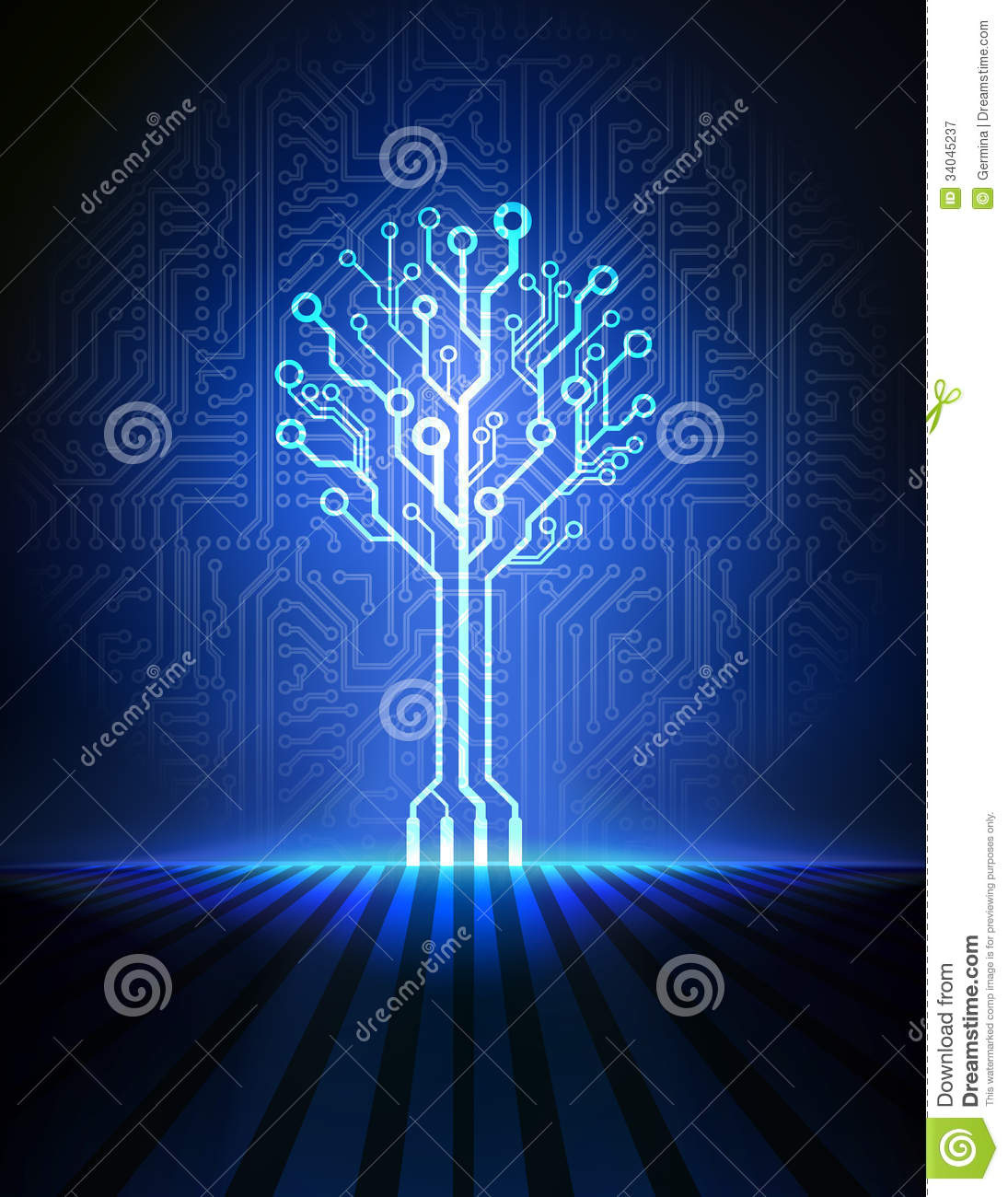 Circuit Board Tree Vector Background Stock Illustration Of Pcb Printed 13 Royalty Free Photos Image Photo
