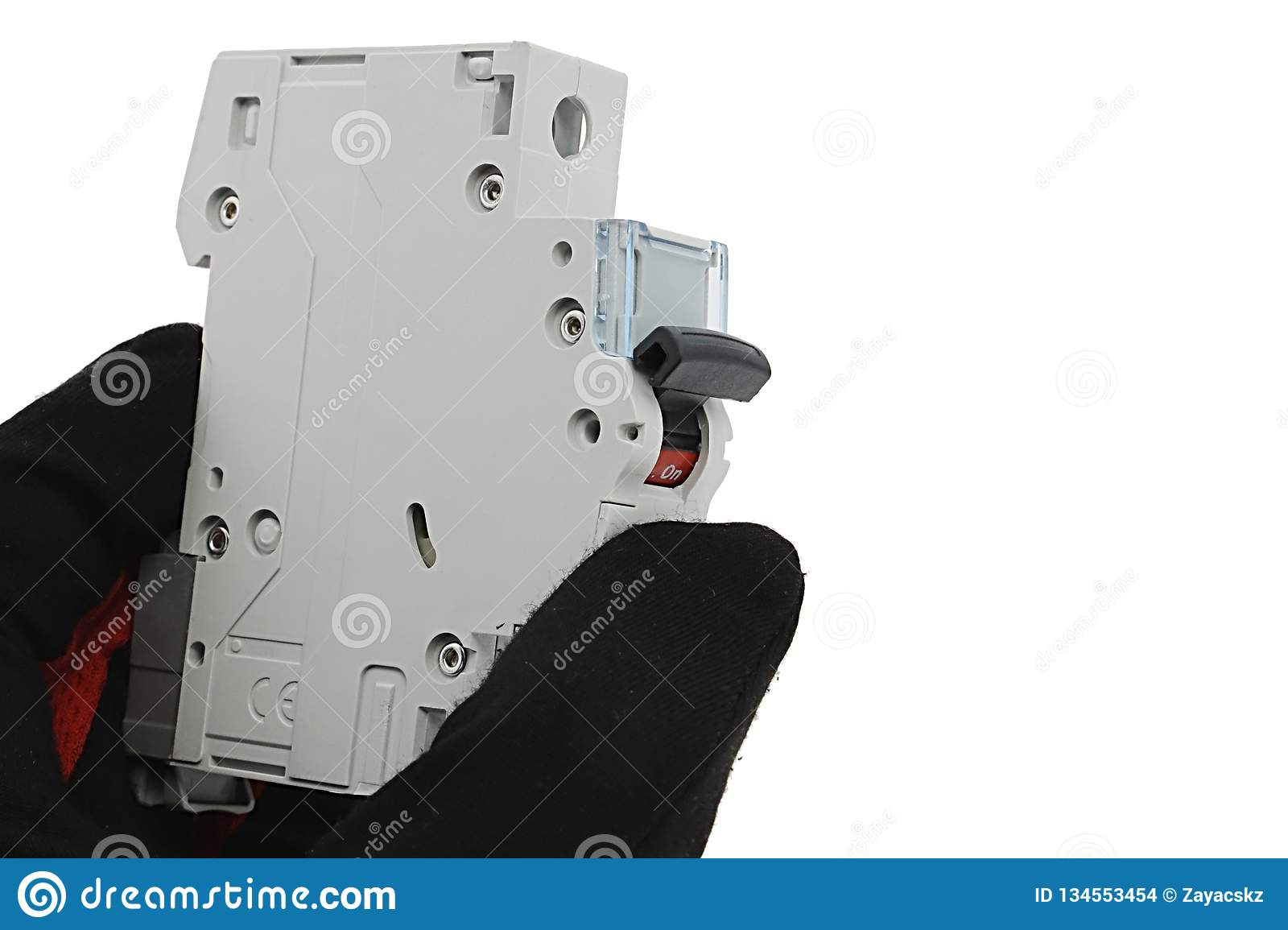 [DIAGRAM_38EU]  Circuit Breaker Module For Domestic Fuse Box With Robust Plastic Lever,  Held In Left Hand In Latex Glove, White Background. Stock Photo - Image of  maintenance, circuit: 134553454 | Vintage Fuse Box With Side Lever |  | Dreamstime.com