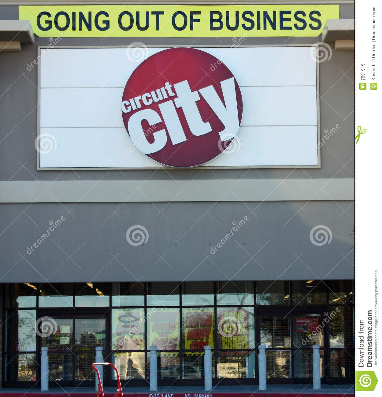 Download Circuit City Going Out Of Business Editorial Stock Image
