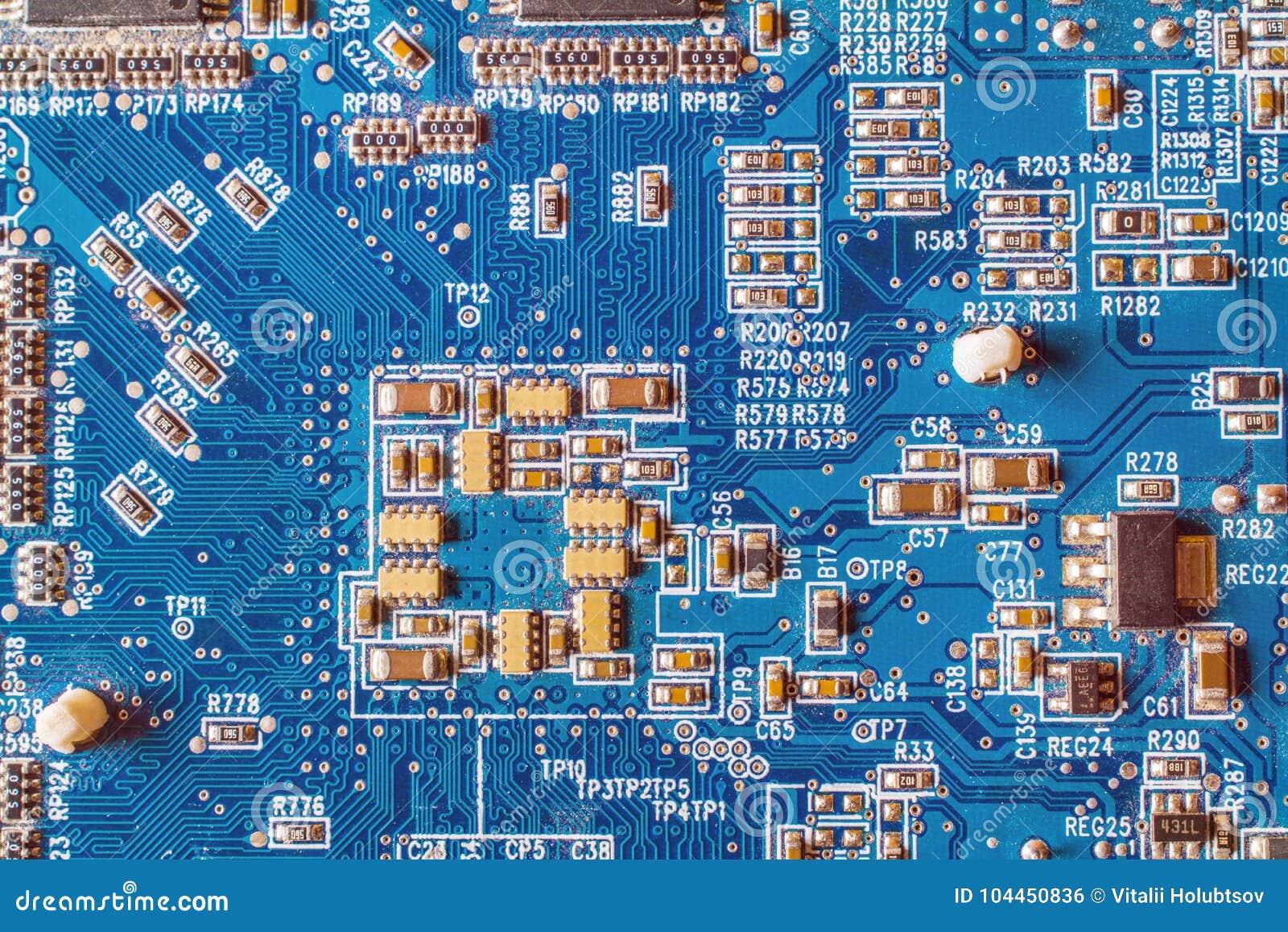 Circuitboard med motstånd