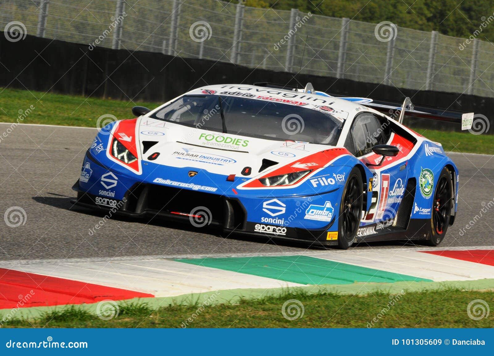 Circuito Del Mugello : Circuito de mugello italia 6 de octubre de 2017: lamborghini