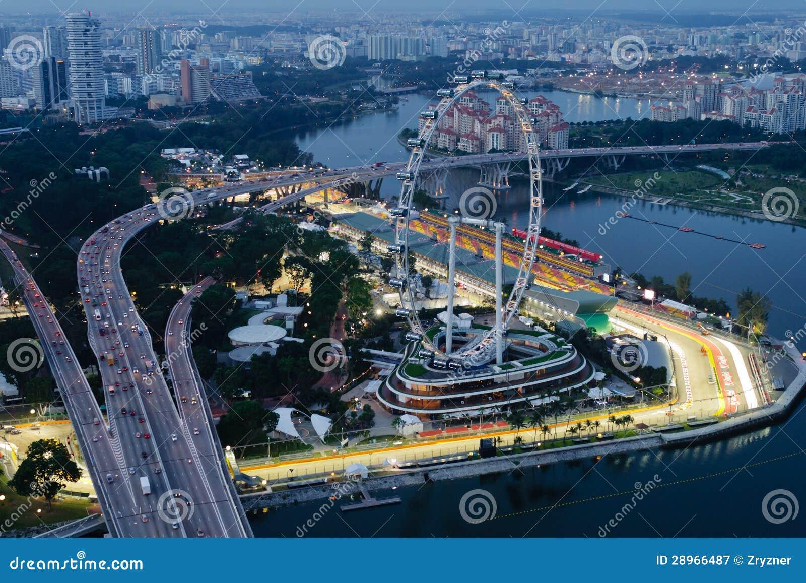 Circuito Singapur : Circuito del aviador de singapur y de la calle de la bahía del