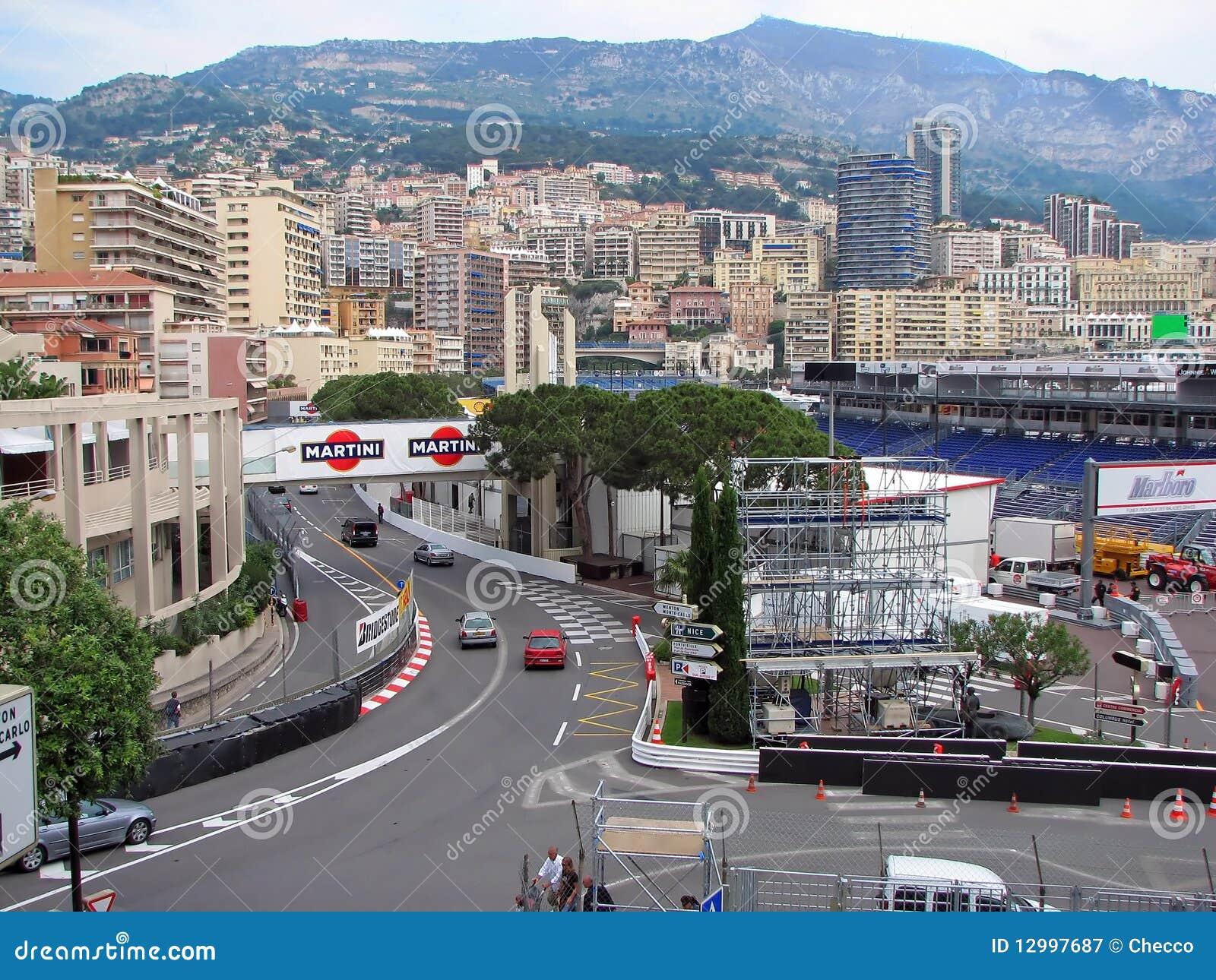 Circuito Monaco : Circuito della monaco virage anthony noghes fotografia