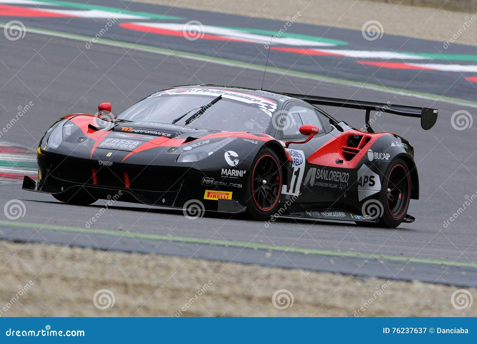 Circuito Del Mugello : Circuito di mugello italia 17 luglio 2016: ferrari 488 gt3 del