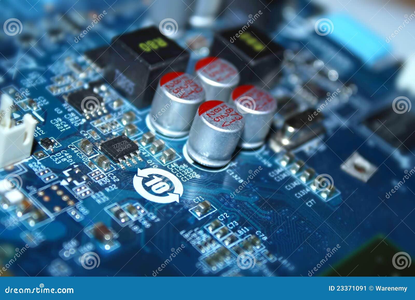 Circuito Z : Circuito eléctrico imagen de archivo