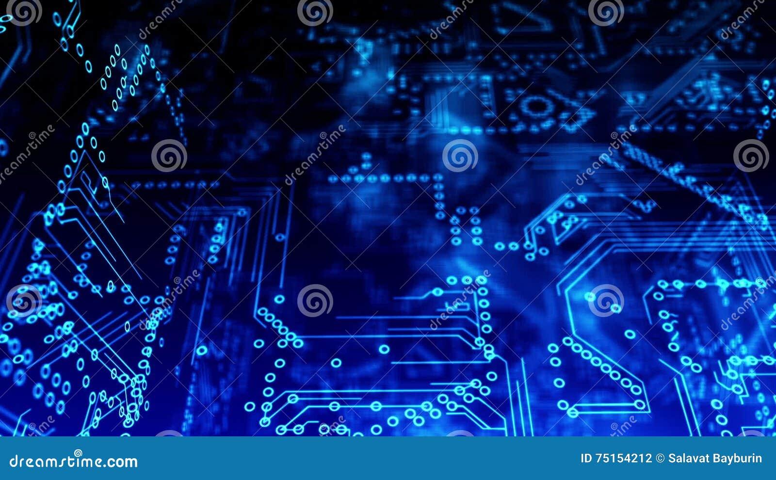 Circuito Lineal : Circuito eléctrico del esquema mosca de la cámara y conexión