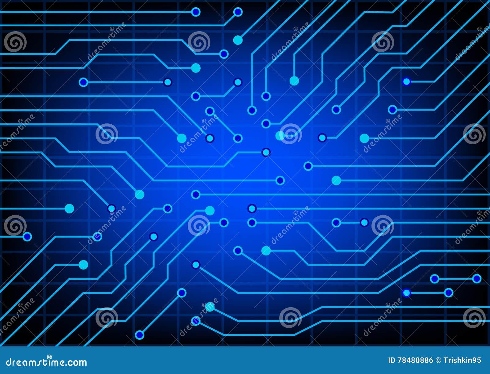Circuito Eletrico : Circuito elétrico ilustração do vetor do eps ilustração do