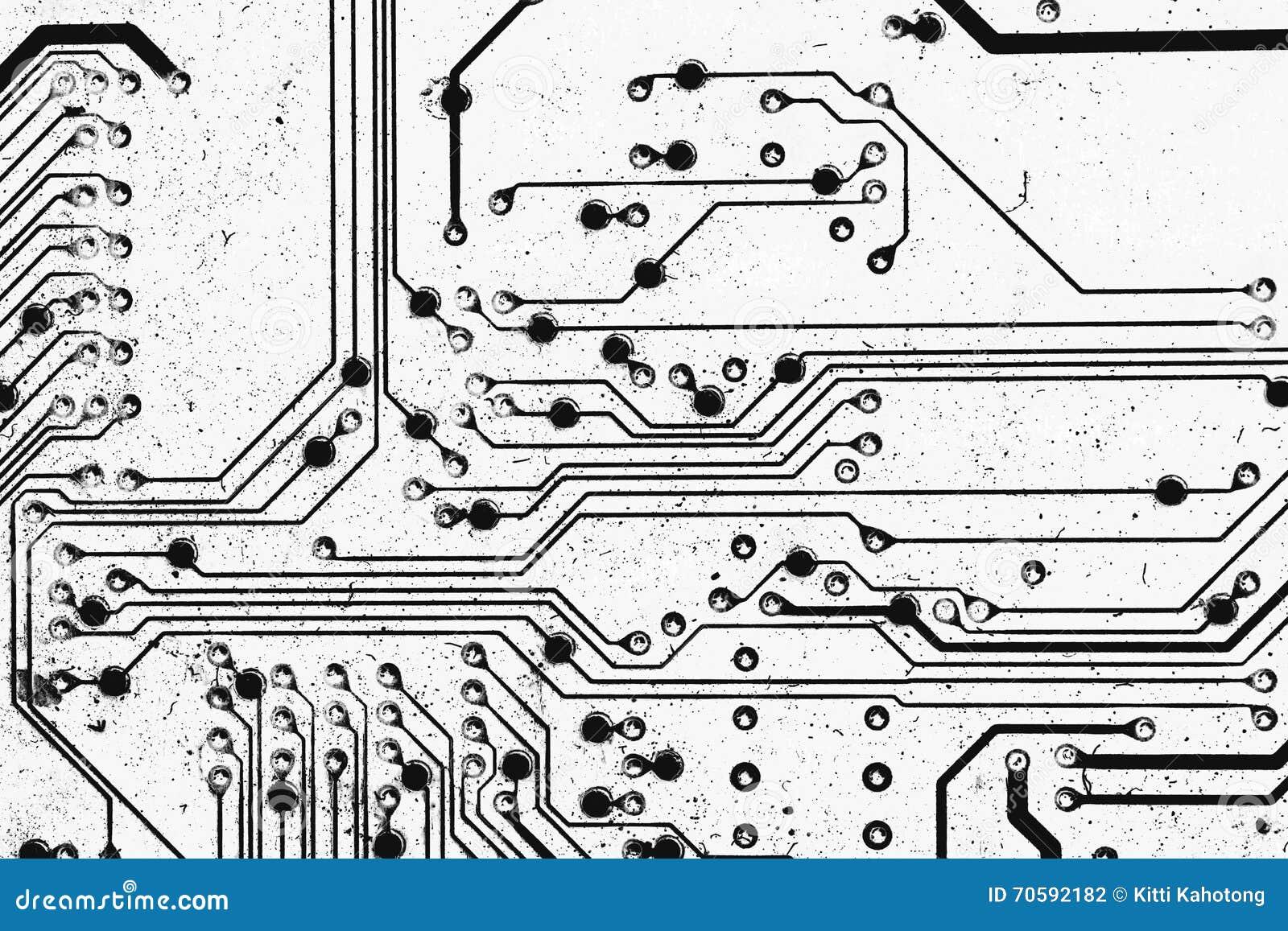 Circuito Z : Circuito eléctrico black white para el fondo foto de