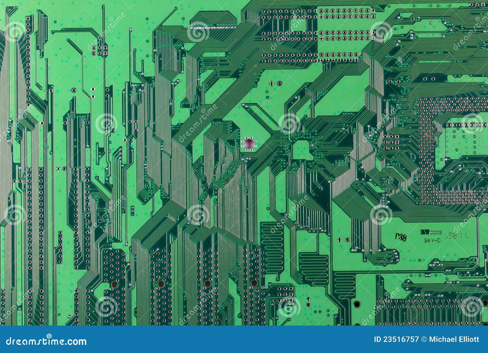 Circuito Impreso : Circuito impreso imagen de archivo imagen de dispositivo