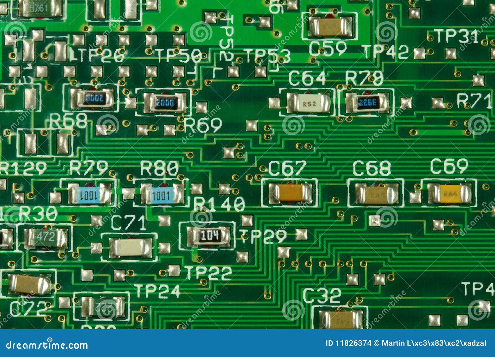 Circuito Z : Circuito integrato immagini stock immagine