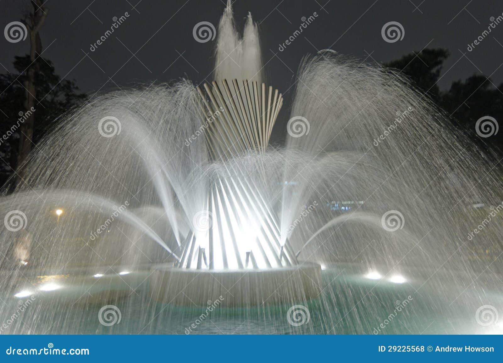 Download Circuito Mágico Lima Peru Da água Foto de Stock - Imagem de jato, curso: 29225568