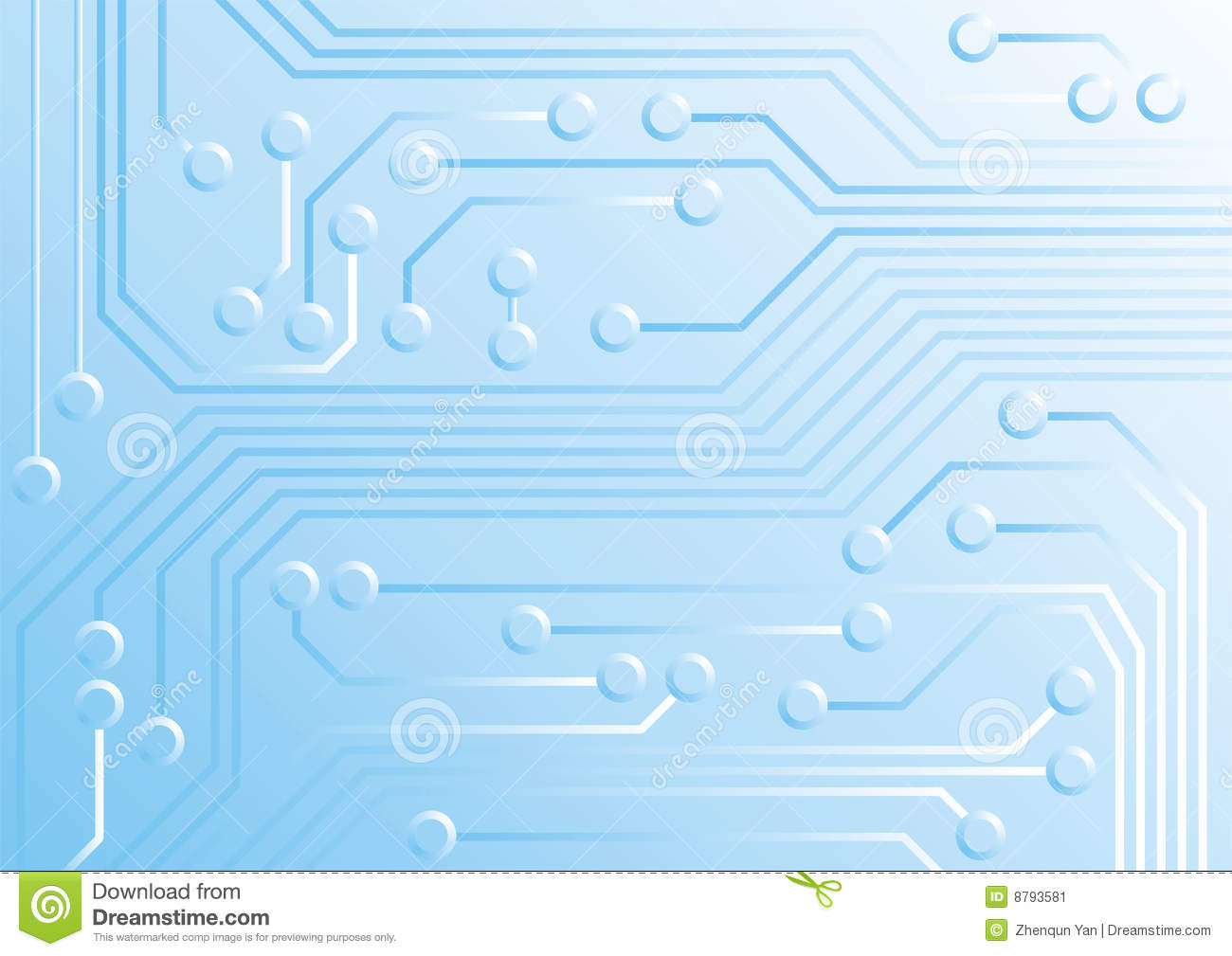 Circuitry Stock Vector Illustration Of Component Background 8793581 Circuit Free Electronic Circuits Diagrams Royalty Photo