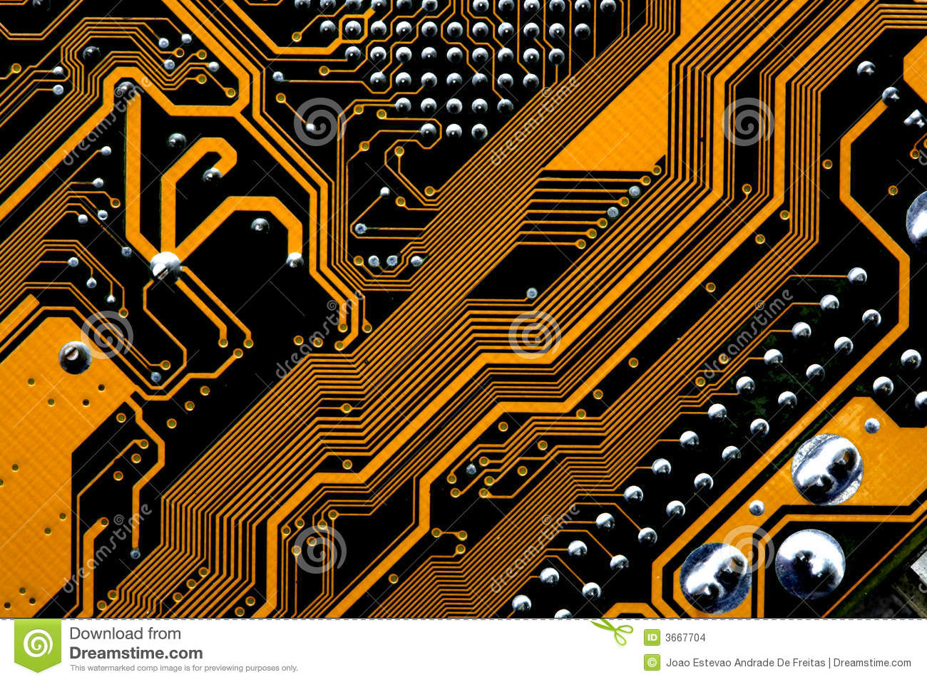 circuits of a motherboard stock photo image of closeup 3667704. Black Bedroom Furniture Sets. Home Design Ideas