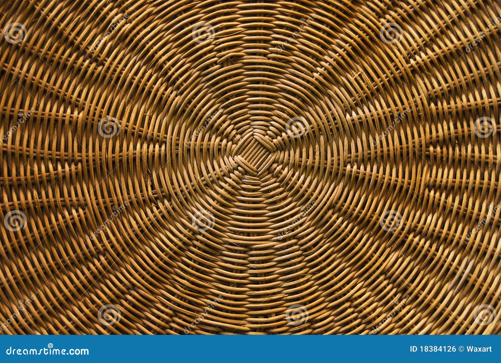 Free Basket Weaving Patterns Pictures : Circular basket weave pattern royalty free stock image