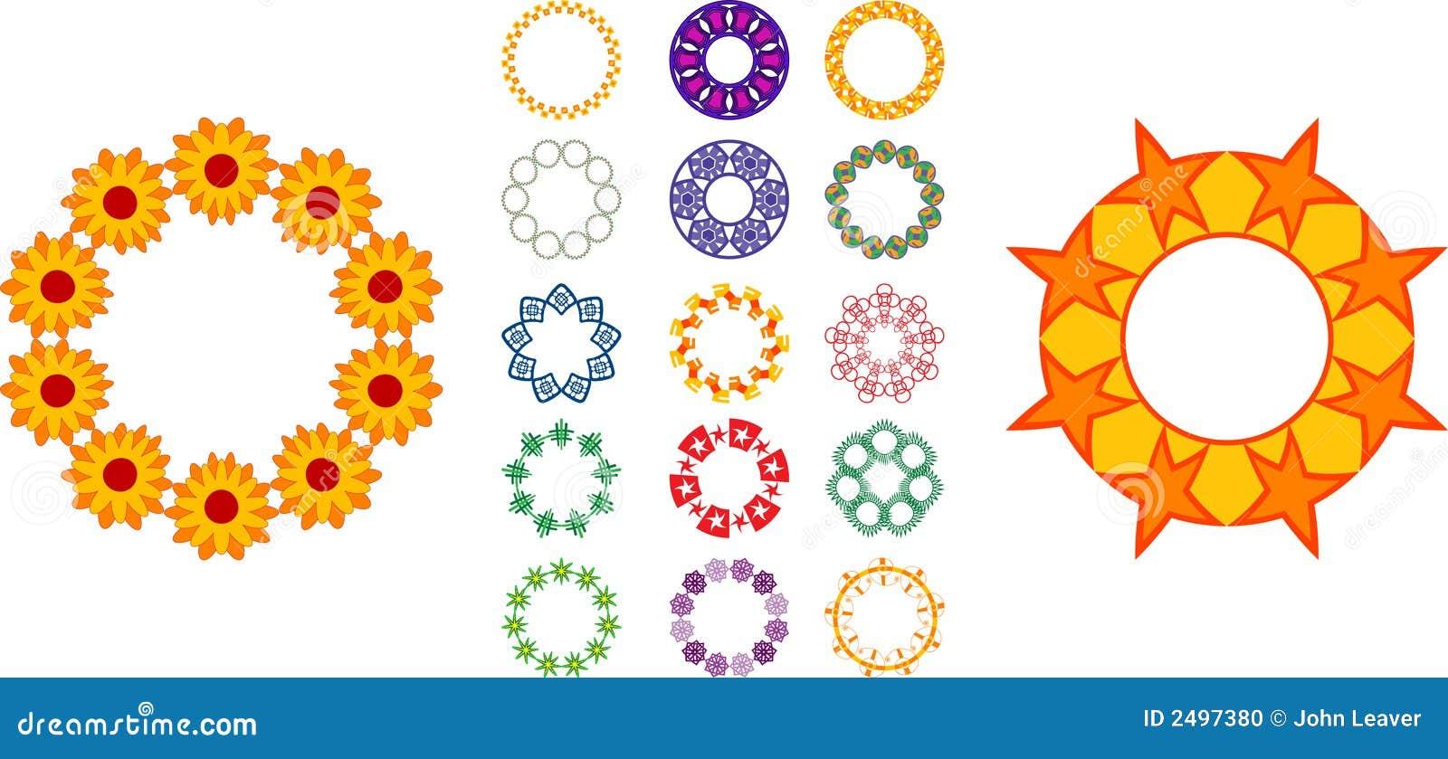 Circular Designs Stock Vector Image Of Patterns Circles