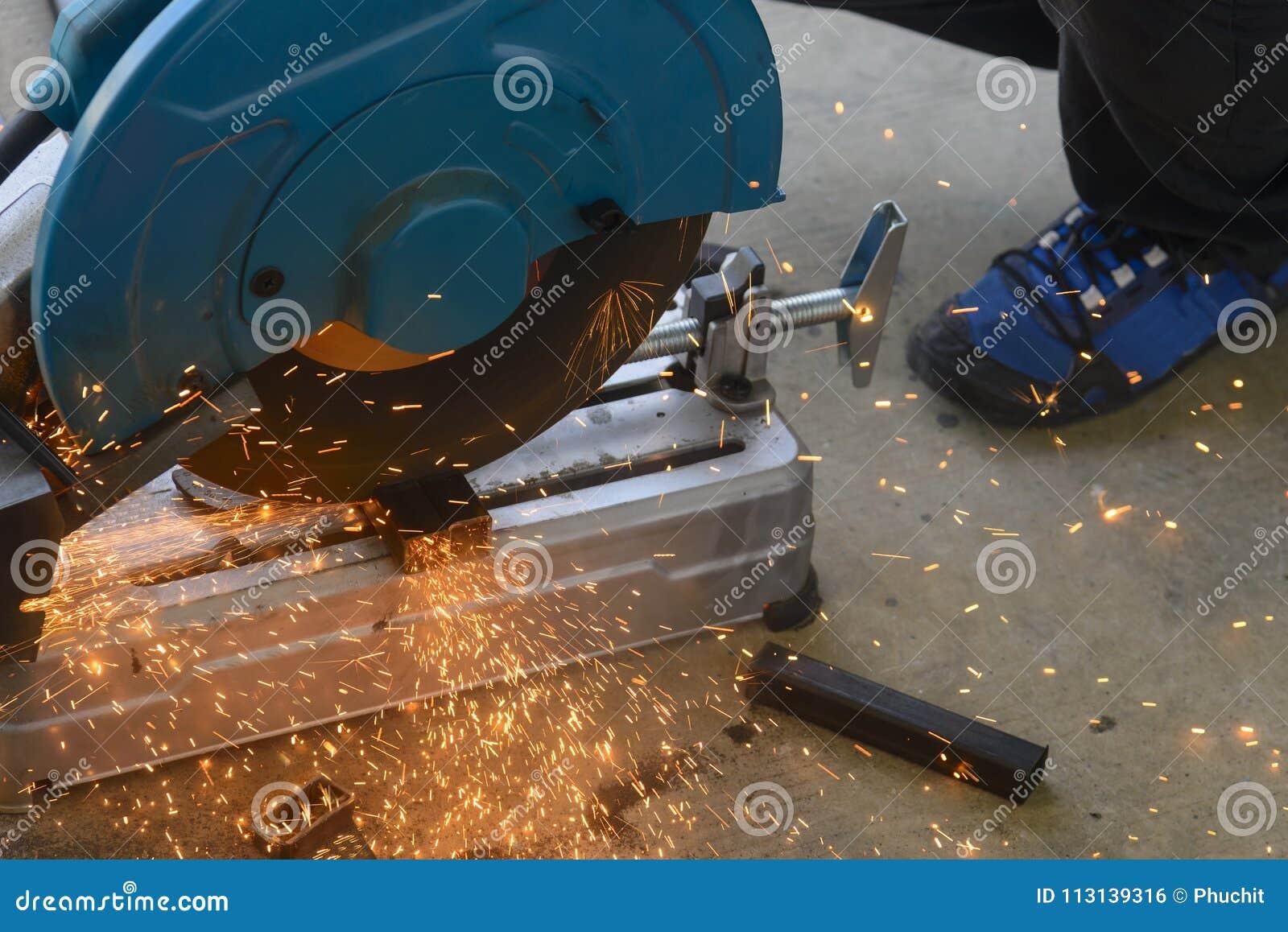 Circular fiber blade sawing machine