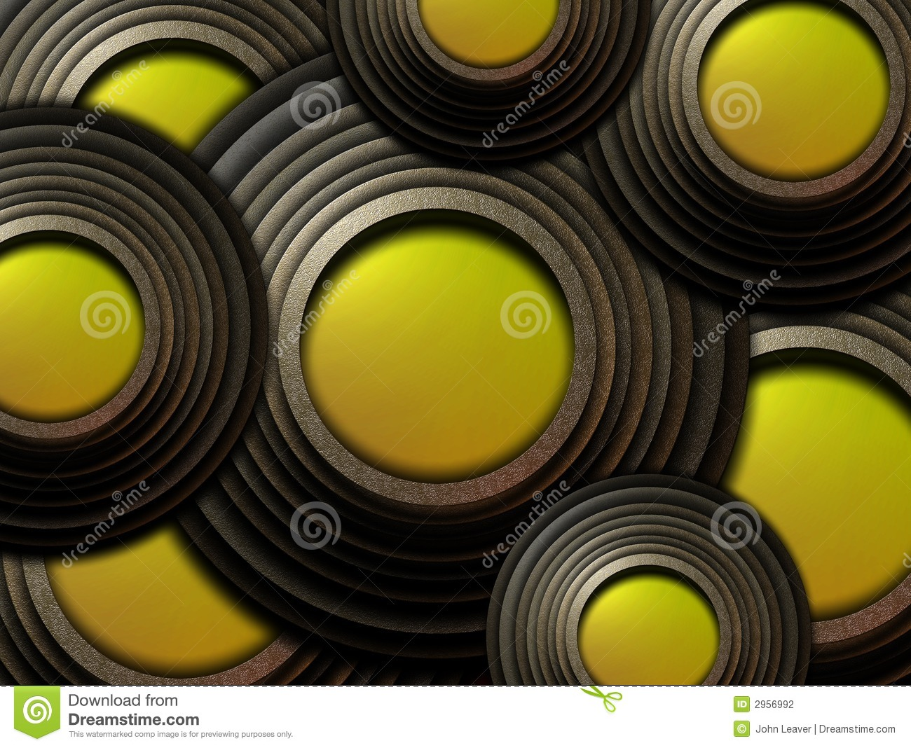 Circular Objects Stock Photography - Image: 2956992