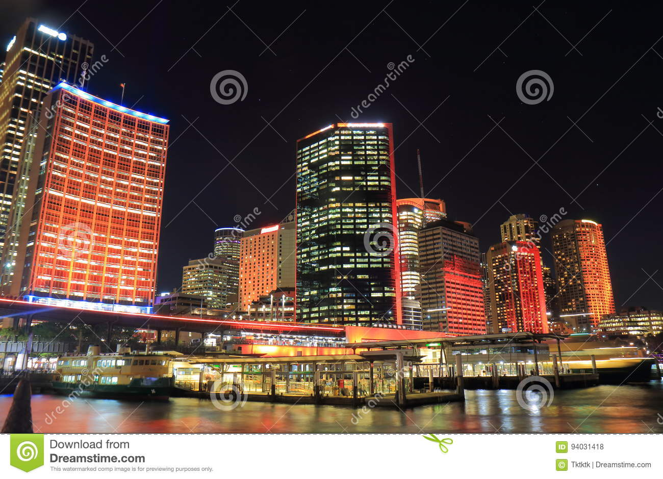 Download Circular Quay Downtown Cityscape Sydney Australia Stock Photo - Image of modern, downtown: 94031418