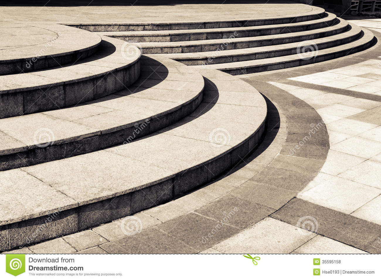Circular Stair Stock Photo Image Of Building Outdoors 35595158