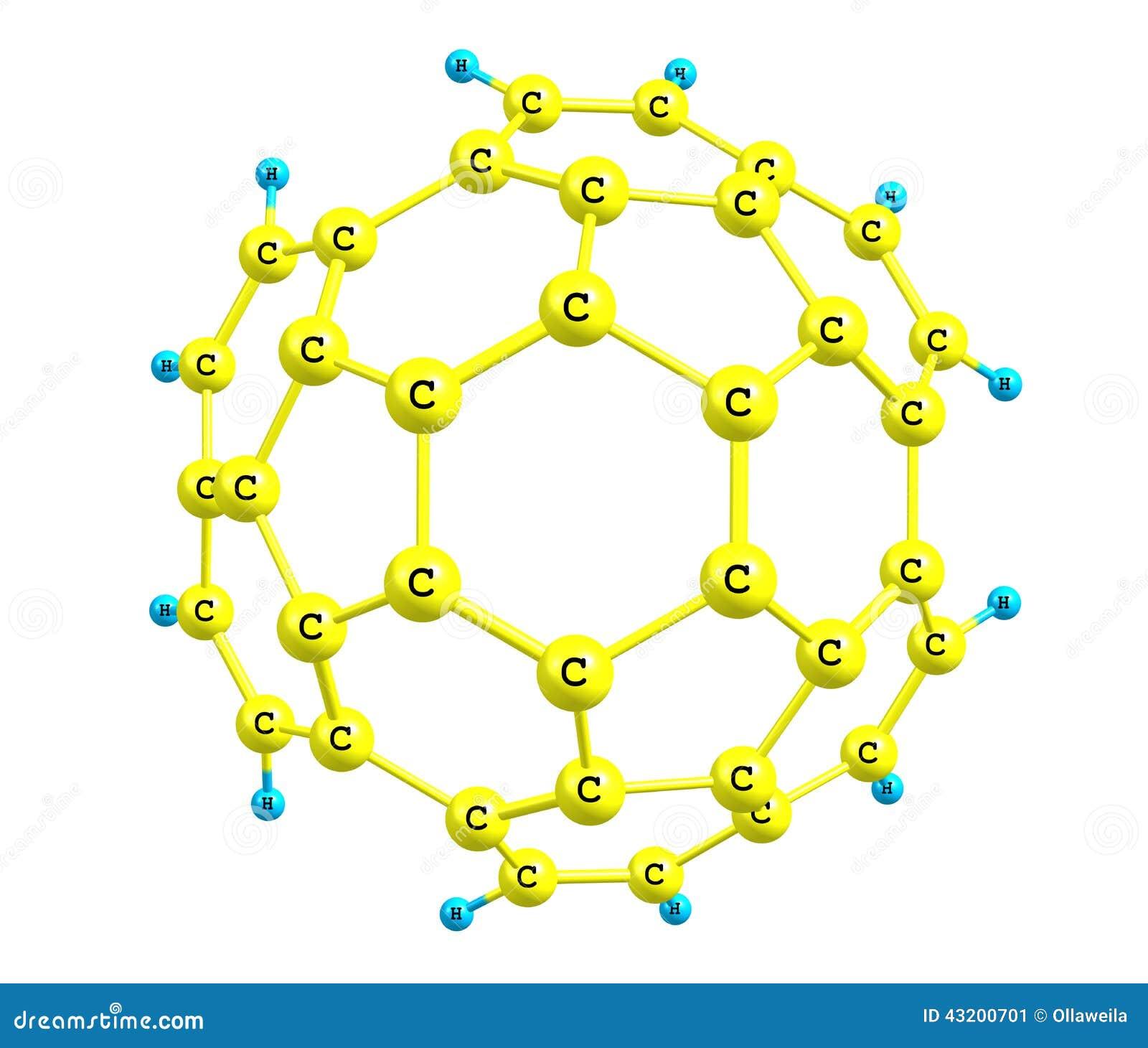 Download Circumtrindene Molekyl Som Isoleras På Vit Stock Illustrationer - Illustration av mineralogy, showpiece: 43200701