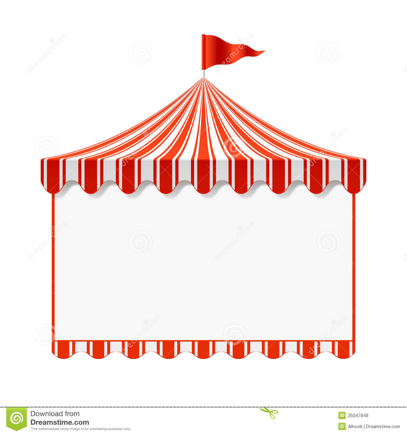 circus advertisement background stock vector illustration of