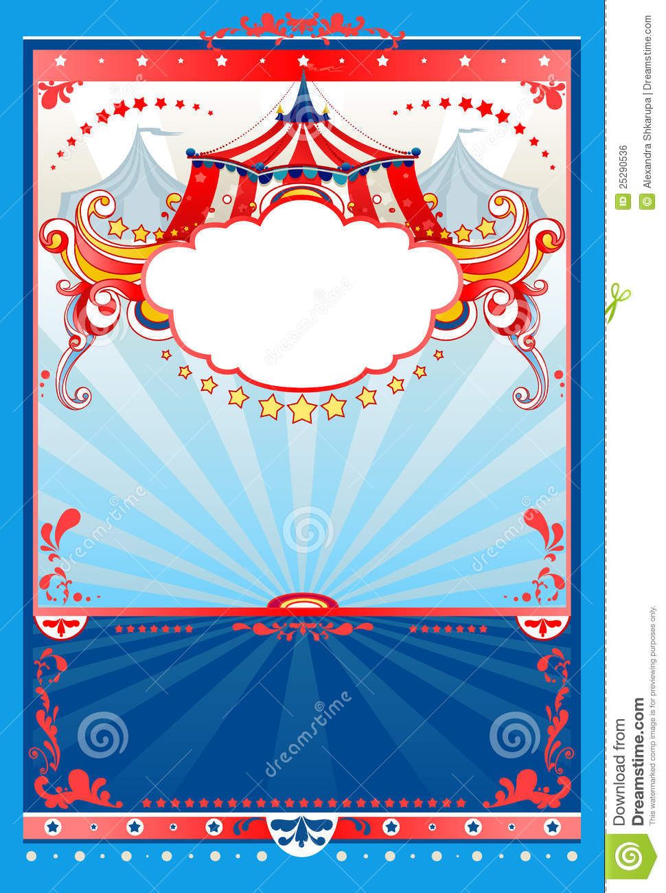 circus background royalty free stock image image 25290536